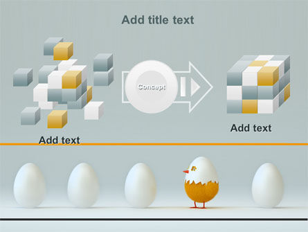 Hatched Chicken PowerPoint Template Slide 17