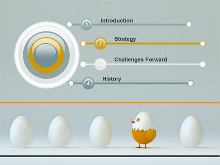 Hatched Chicken PowerPoint Template, Slide 3, 07882, Consulting — PoweredTemplate.com