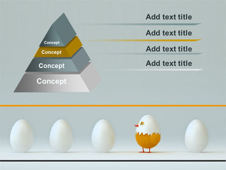Hatched Chicken PowerPoint Template, Slide 4, 07882, Consulting — PoweredTemplate.com