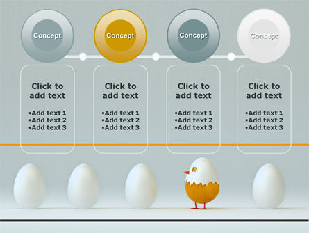 Hatched Chicken PowerPoint Template Slide 5