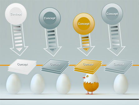 Hatched Chicken PowerPoint Template Slide 8