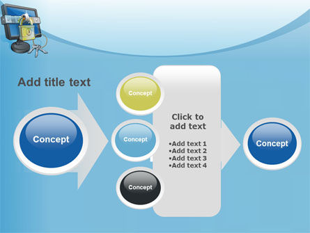 Computer Security Software PowerPoint Template Slide 17
