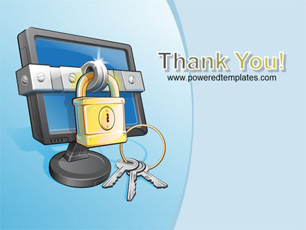 Computer Security Software PowerPoint Template Slide 20
