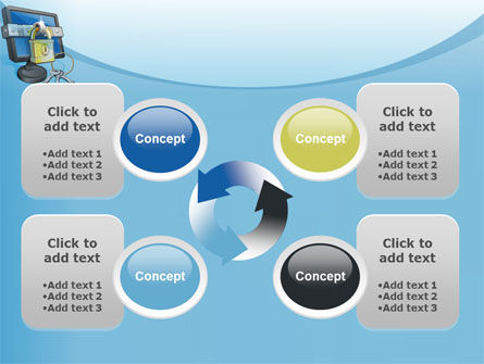 Computer Security Software PowerPoint Template Slide 9