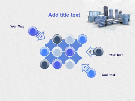 Hi-Tech District PowerPoint Template Slide 10