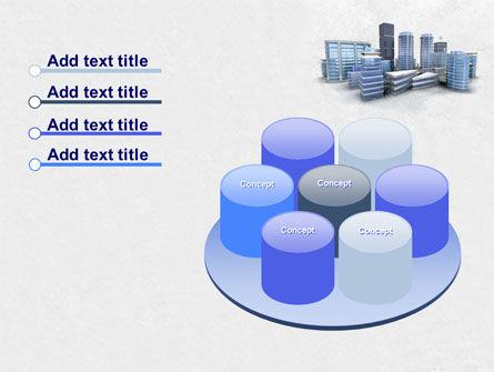 Hi-Tech District PowerPoint Template Slide 12