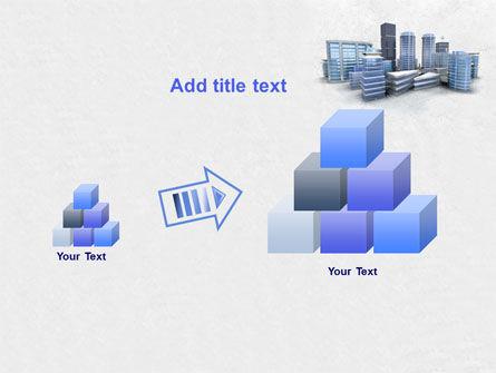 Hi-Tech District PowerPoint Template Slide 13