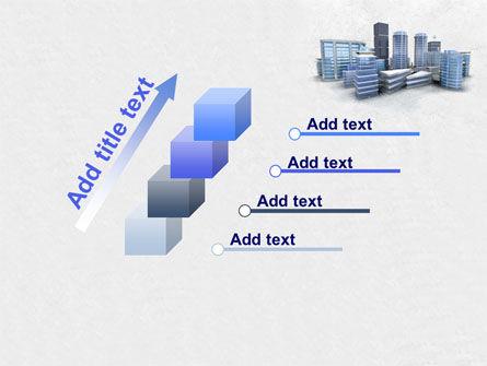 Hi-Tech District PowerPoint Template Slide 14