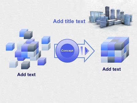 Hi-Tech District PowerPoint Template Slide 17