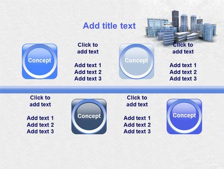 Hi-Tech District PowerPoint Template Slide 18