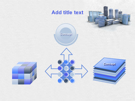 Hi-Tech District PowerPoint Template Slide 19