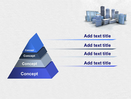 Hi-Tech District PowerPoint Template, Slide 4, 07885, Construction — PoweredTemplate.com