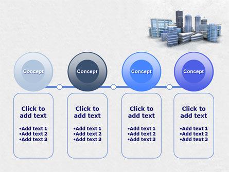 Hi-Tech District PowerPoint Template Slide 5