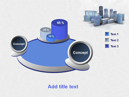Hi-Tech District PowerPoint Template Slide 6