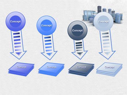 Hi-Tech District PowerPoint Template Slide 8