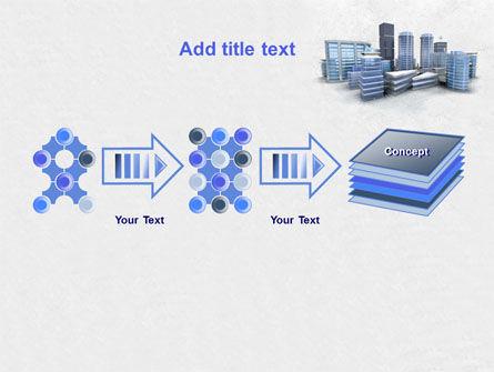 Hi-Tech District PowerPoint Template Slide 9