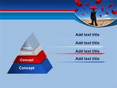 Falling Umbrellas PowerPoint Template#4
