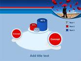 Falling Umbrellas PowerPoint Template#6