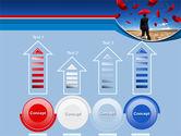 Falling Umbrellas PowerPoint Template#7