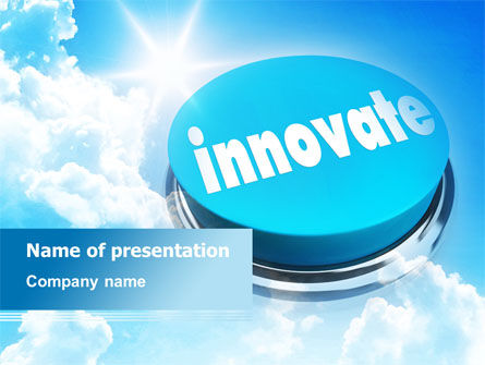 start innovation powerpoint template backgrounds 07889