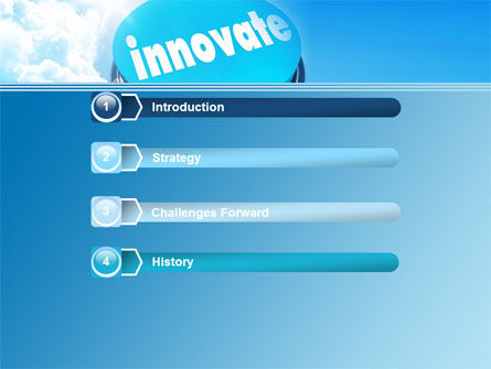 Start Innovation PowerPoint Template, Slide 3, 07889, Technology and Science — PoweredTemplate.com