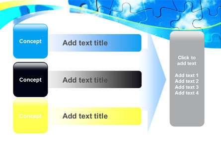 Puzzle Of The Sky PowerPoint Template Slide 12