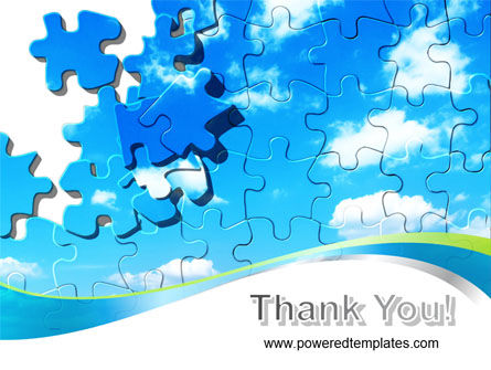 Puzzle Of The Sky PowerPoint Template Slide 20