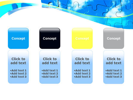 Puzzle Of The Sky PowerPoint Template Slide 5