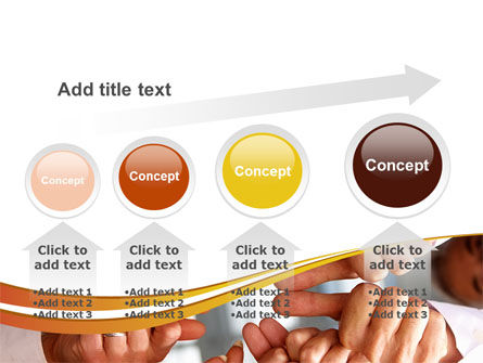 Thumbs Up Team PowerPoint Template Slide 13