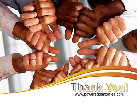 Thumbs Up Team PowerPoint Template Slide 20