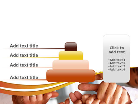 Thumbs Up Team PowerPoint Template Slide 8