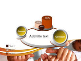 Thumbs Up Team PowerPoint Template#16