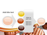 Thumbs Up Team PowerPoint Template#17