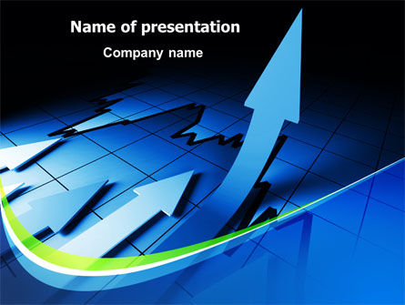 Economic Improvement PowerPoint Template, 07897, Financial/Accounting — PoweredTemplate.com