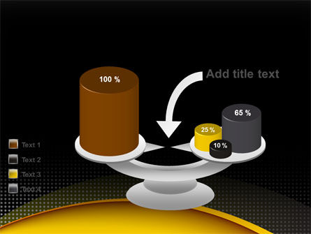 Yellow Arch Theme PowerPoint Template Slide 10