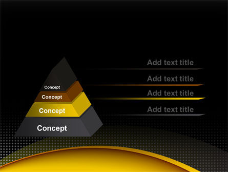 Yellow Arch Theme PowerPoint Template Slide 12