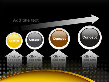 Yellow Arch Theme PowerPoint Template Slide 13