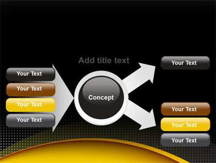 Yellow Arch Theme PowerPoint Template Slide 14