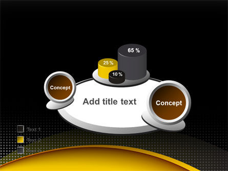 Yellow Arch Theme PowerPoint Template Slide 16