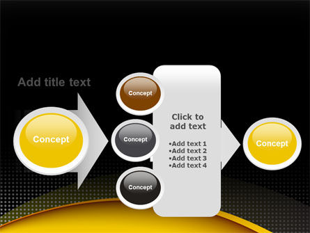 Yellow Arch Theme PowerPoint Template Slide 17