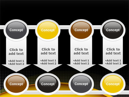 Yellow Arch Theme PowerPoint Template Slide 18