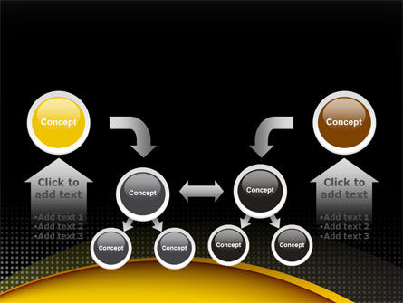 Yellow Arch Theme PowerPoint Template Slide 19