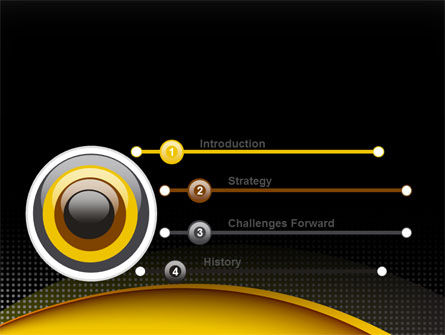 Yellow Arch Theme PowerPoint Template Slide 3