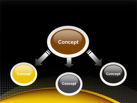 Yellow Arch Theme PowerPoint Template Slide 4