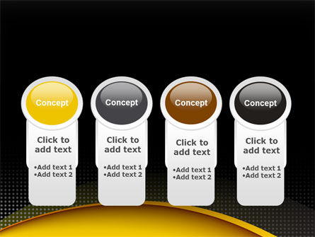 Yellow Arch Theme PowerPoint Template Slide 5
