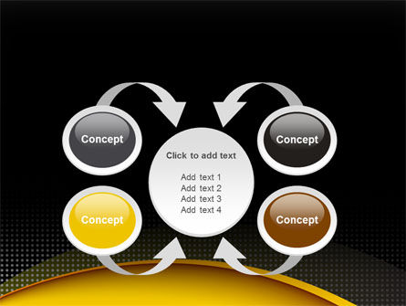 Yellow Arch Theme PowerPoint Template Slide 6