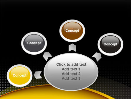 Yellow Arch Theme PowerPoint Template Slide 7
