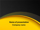 Abstract/Textures: Yellow Arch Theme PowerPoint Template #07900