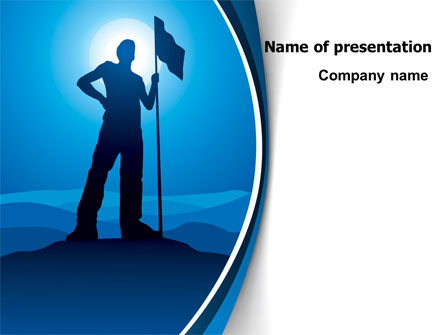 Conqueror PowerPoint Template, 07901, Consulting — PoweredTemplate.com