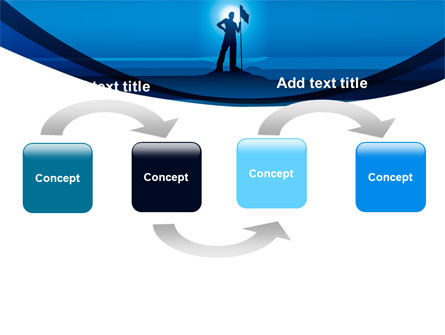 Conqueror PowerPoint Template, Slide 4, 07901, Consulting — PoweredTemplate.com